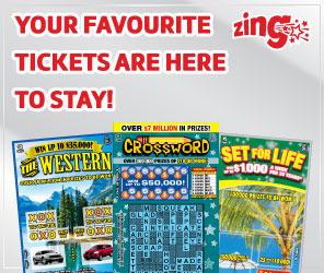 WCLC - SCRATCH 'N WIN (Zing) Prizes Remaining